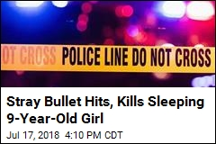 Girl, 9, Killed by Stray Bullet as She Slept in Her Bed