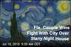 Fla. Couple Wins Fight With City Over Starry Night House