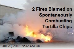 2 Fires Blamed on Spontaneously Combusting Tortilla Chips
