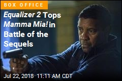 Equalizer 2 Tops Mamma Mia! in Battle of the Sequels