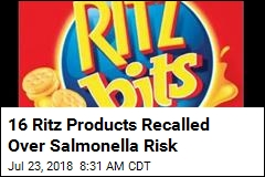 16 Ritz Products Recalled Over Salmonella Risk