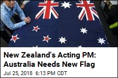 New Zealand's Acting PM: Australia Copied Our Flag