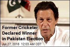 Former Cricketer Declared Winner in Pakistan Election