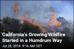 2 Dead in Wildfire, and Now: 'Firenadoes'