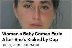 Off-Duty Cop Allegedly Kicked Pregnant Woman in Stomach