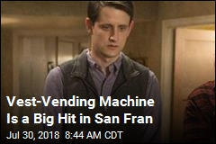 Ridiculed Vest-Vending Machine Gets Last Laugh