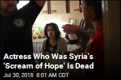 Actress Who Became Heroine of Syrian Opposition Is Dead