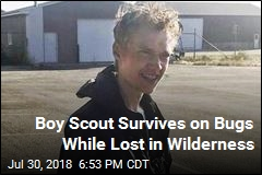 Boy Scout Survives on Bugs While Lost in Wilderness