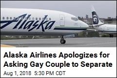 Alaska Airlines Apologizes for Asking Gay Couple to Separate