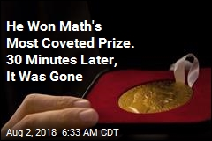 'Nobel Prize of Math' Stolen at Ceremony