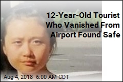 12-Year-Old Tourist Who Vanished From Airport Found Safe