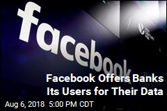 Facebook Offers Banks Its Users for Their Data