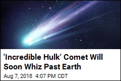 You Might Be Able to Glimpse a Green Comet