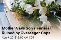 Cops Arrest Man At Best Friend's Funeral