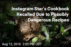 Instagram Star's Cookbook Recalled Due to Possibly Dangerous Recipes