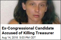 Cops Say Ex-Congressional Candidate Murdered Treasurer