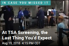 TSA Officer, Boy Have a Dance-Off