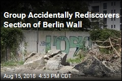 Forgotten Section of Berlin Wall Rediscovered