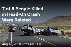 Head-On Crash Kills 7 Family Members