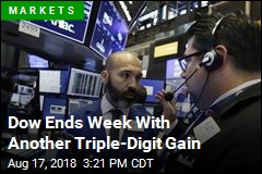 Dow Ends Week With Another Triple-Digit Gain