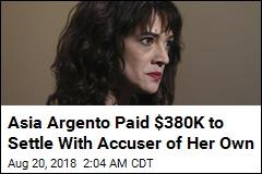 Weinstein Accuser Settled Her Own Sexual Assault Claim