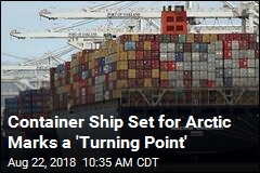 First Container Ship to Make Beeline Through Arctic