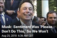 What Elon Musk Started on Twitter Ends on Tesla Blog