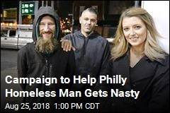 Campaign to Help Philly Homeless Man Gets Nasty
