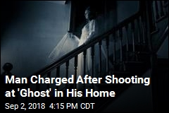 Man Charged After Shooting at 'Ghost' in His Home