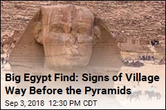 Big Egypt Find: Signs of Life From Before the Pyramids