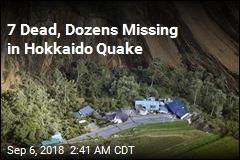 Powerful Japan Quake Causes Landslides, Blackout