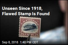 'Jackpot': Flawed Stamp Could Be Worth $1M
