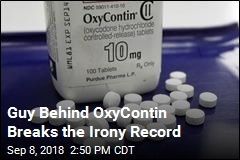 Guy Behind OxyContin Gets Patent for Opioid Addiction