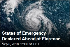 States of Emergency Declared Ahead of Florence