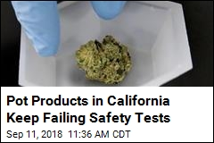 Nearly 20% of California Pot Products Failing Safety Tests
