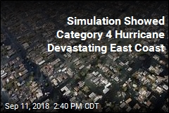 Simulation Showed Category 4 Hurricane Devastating East Coast