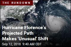 Hurricane Florence's Projected Path Makes 'Unusual' Shift