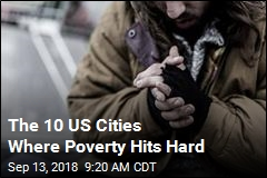 The 10 US Cities Where Poverty Hits Hard