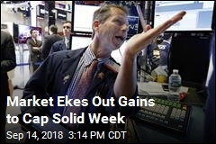 Market Ekes Out Gains to Cap Solid Week