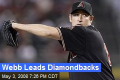 Webb Leads Diamondbacks