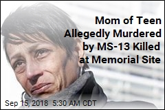 Mom of Teen Allegedly Murdered by MS-13 Killed at Memorial Site