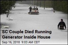 SC Couple Died Running Generator Inside House