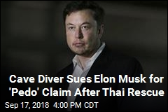 Elon Musk Sued by British Diver He Called 'Pedo'