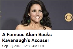 Louis-Dreyfus Signs Letter Backing Kavanaugh Accuser