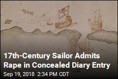 Hidden for 300 Years, Sailor's Rape Confession Discovered