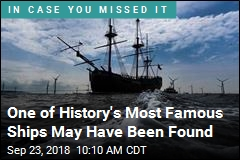 One of History's Most Famous Ships May Have Been Found