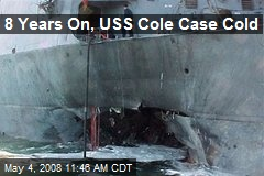 8 Years On, USS Cole Case Cold