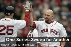 One Series Sweep for Another