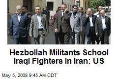 Hezbollah Militants School Iraqi Fighters in Iran: US