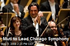 Muti to Lead Chicago Symphony